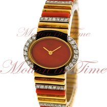 Chopard Ladies Vintage, Orange Dial, Diamond Bezel - Yellow...