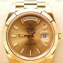 Rolex Day-Date II, Ref. 228238 - champagner Index Zifferblatt