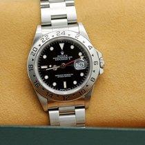 롤렉스 (Rolex) Explorer II Stahl Automatik Ref : 16570 von 1999 -...