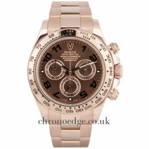 Ρολεξ (Rolex) Rolex Daytona Chocolate dial 18ct Rose Gold  116505