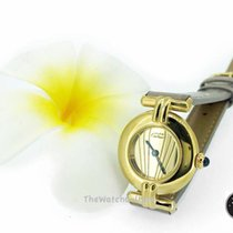 Cartier Vermeil Colisee .925 Sterling Silver G/P