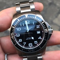 Longines Hydroconquest acciaio Steel 41 mm automatico automatic