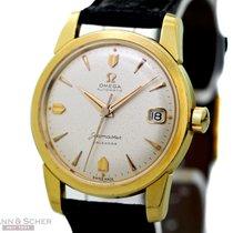 Omega Vintage Seamaster Calender Ref-2849 18k Yellow Gold Box...