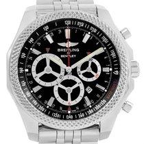 Breitling Bentley Barnato Racing Black Dial Mens Watch A25368