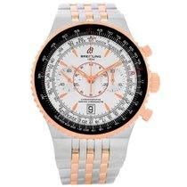 Breitling Montbrillant Legende Steel Rose Gold Watch C23340...