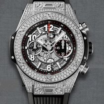 Hublot TITANIUM  UNIQUE  PAVÉ  WITH DIAMONDS 411NX1170RX1704