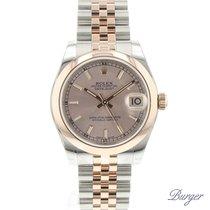 Rolex Datejust 31 Rolesor Everose Domed / Jubilee NEW