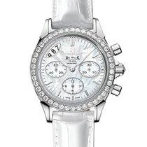 Omega DeVille Stainless Steel Co-Axial Chronograph Ladies Watch