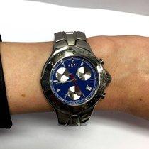 Ebel Sportwave Stainless Steel Men's Watch W/ Tachymeter...