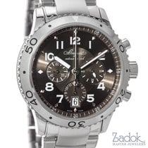 Breguet Type XXI Automatic Flyback Chronograph 3810ST Steel...
