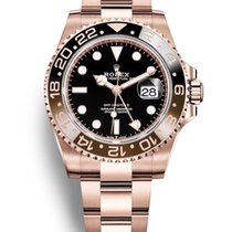 Rolex GMT-Master II 40MM Everose Gold Watch 126715CHNR