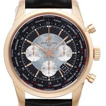 Breitling Transocean Chronograph Unitime 18 kt Rotgold RB0510U4