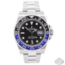 ロレックス (Rolex) GMT Master ii Black and Blue Stainless Steel  ...