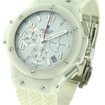 Hublot 341.CH.230.RW 41mm Big Bang Aspen All White - White...