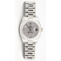 Rolex President 179179 Lady's 18K White Gold Heavy Band...