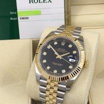Rolex Cally - 2016 New Model DATEJUST II126333 Black Diamond Dial