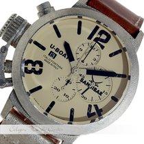 U-Boat Classico 48 Chrono Sterling Silver 6918/M