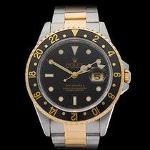 ロレックス (Rolex) GMT-Master II Stainless Steel/18k Yellow Gold...