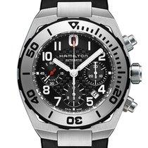 Hamilton Men's H78716333 Khaki Navy Sub Auto Chrono Watch