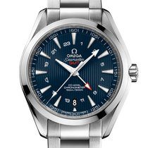 Omega Seamaster Aqua Terra 150 M Omega Co-Axial GMT 43mm