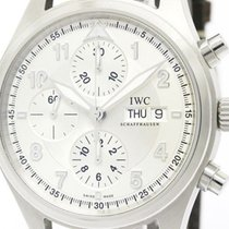 IWC Polished Iwc Spitfire Chronograph Steel Automatic  Watch...