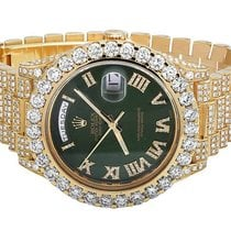 Rolex Mens Rolex Day-Date II 18k 40MM President 228238 Yellow...