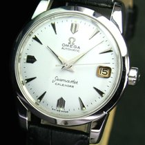 Omega Seamaster Automatic Calendar Date Steel Mens Watch Cal. 503