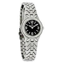 Ebel E-Type Mini Ladies Black Dial SS Swiss Quartz Watch...