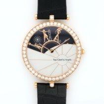 Van Cleef & Arpels Rose Gold Journee a Paris Diamond Watch