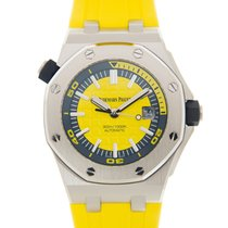 Audemars Piguet Royal Oak Offshore Stainless Steel Yellow...