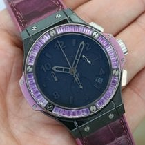 Hublot Big Bang Tutti Frutti All Black Purple W/ Amethyst...