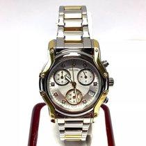 Bulova 18k Gp & Steel Men's/unisex Watch W/ Factory...