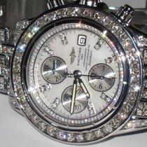 Breitling Chronomat Evolution Stainless Steel Automatic Diamonds