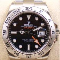 Rolex Explorer II, Ref. 216570 - schwarzes Zifferblatt, LAGERND