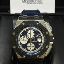愛彼 (Audemars Piguet) Royal Oak Offshore PT950 PLATINUM Ceramic...