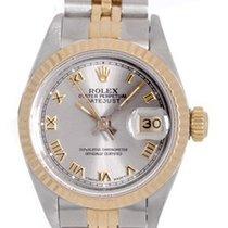 Rolex Ladies Steel & Gold Rolex Datejust 2-Tone Watch 79173
