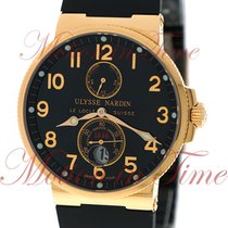 Ulysse Nardin Maxi Marine Chronometer 41mm, Black Dial - Rose...