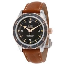 Omega 23322412101002 Seamaster Automatic Leather Men's Watch