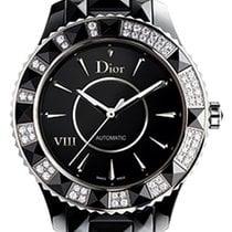 Dior VIII Automatic Diamond Black Ceramic