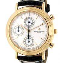 Vacheron Constantin Chronograph 47001 Rose Gold, Leather, 38mm