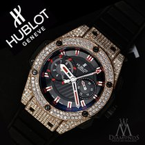 ウブロ (Hublot) Swiss Hublot King Power Replica Unico King Gold...