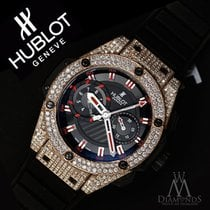 Hublot Swiss Hublot King Power Replica Unico King Gold With...