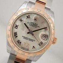 ロレックス (Rolex) Datejust 178341 Midsize Steel & Rose Gold...
