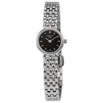 Tissot Lovely Black Dial Stainless Steel Ladies Watch T0580091...