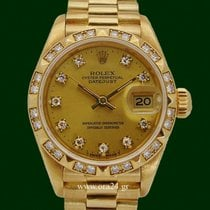Ρολεξ (Rolex) Datejust Lady 69178/69258 President 18k Gold...