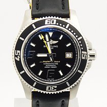 Breitling Superocean Abyss 44 Yellow On Black Yellow Strap A17391