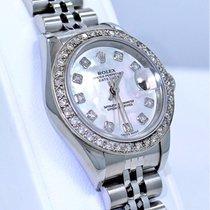 Rolex Datejust 79174 Mop Diamond Dial 1.05ct Diamond Bezel...