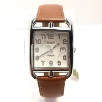 Hermès Cape Cod Pm Stainless Steel Luxury Ladies Wrist Watch...