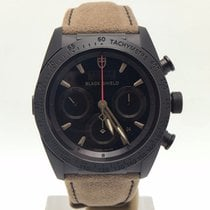 Tudor Fastrider Chronograph Ceramic 42mm Brown Suede Calf...