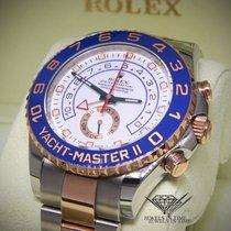 Rolex Yacht-Master II 18k Everose Gold/Steel Cerachron Watch...